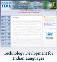 Technology Development in Indian languages